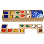 Dominoes geometric shapes