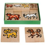 Puzzle farm animals